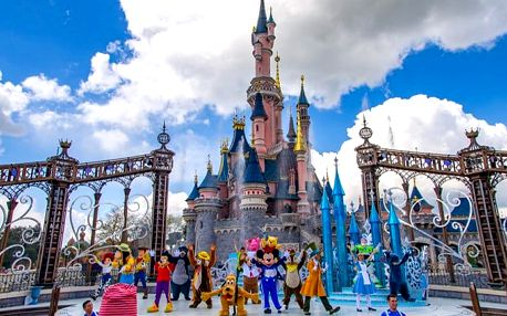 5denní zájezd pro 1 osobu do Paříže, Disneylanu, mořského světa a ZOO se snídaní