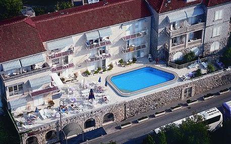 Chorvatsko - Dubrovník na 4 až 8 dní, polopenze s dopravou vlastnã nebo vlastní 30 m od pláže