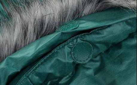 Dámský tyrkysový kabát Therese 2, velikosti XS-XL