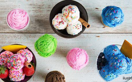 Neomezená degustace až 50 druhů zmrzliny