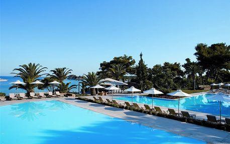 Řecko - Chalkidiki na 8 až 15 dní, polopenze s dopravou letecky z Prahy přímo na pláži
