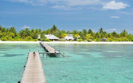Maledivy - Jižní Atol Male na 10 dní, plná penze s dopravou letecky z Prahy přímo na pláži