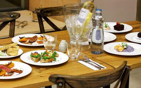 Francií inspirované degustační menu pro 2 osoby