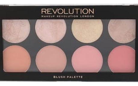 Makeup Revolution London Blush Palette 13 g tvářenka pro ženy Blush Goddess