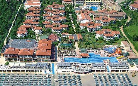 Turecko - Side na 8 dní, all inclusive s dopravou letecky z Prahy přímo na pláži