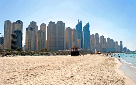 Spojené arabské emiráty - Dubai na 4 dny, polopenze, snídaně nebo bez stravy s dopravou letecky z Prahy
