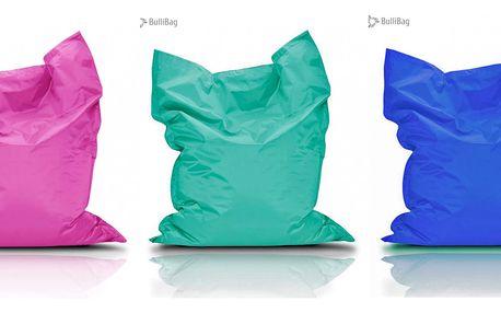 Sedací pytle BulliBag: 4 velikosti, 15 barev, doručení zdarma