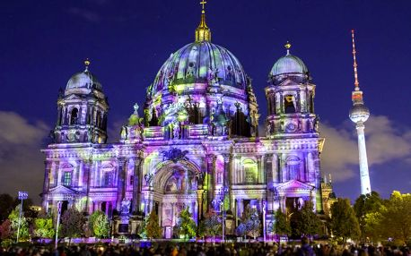 Výlet pro 1 osobu na Festival světel v Berlíně 6. 10. - 7. 10.
