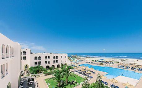 Tunisko - Djerba na 8 až 15 dní, ultra all inclusive s dopravou letecky z Prahy přímo na pláži