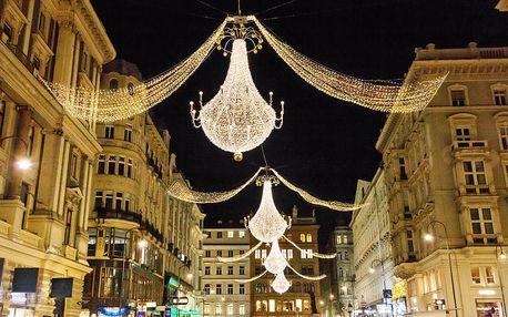 Výlet do adventní Vídně s možností návštěvy Primarku