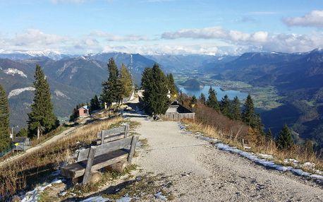 Horský poznávací zájezd do Rakouska pro 1 osobu: výšlapy, plavba lodí