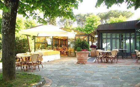 Toskánsko na 3-8 dní pro dva včetně snídaní u Gambassi Terme