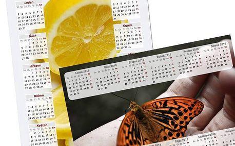 Kalendář z vlastních fotografií: roční, měsíční či plánovací po týdnech