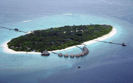 Maledivy - Lhaviyani Atol na 10 dní, all inclusive nebo snídaně s dopravou letecky z Prahy přímo na pláži