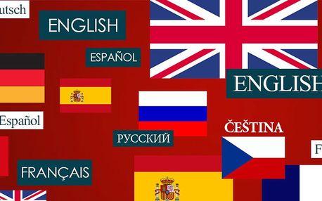 Podzimní intenzivní jazykový kurz dle výběru