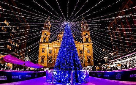 Vánoční Budapešt s termály v Maďarsku: 2denní výlet s ubytováním