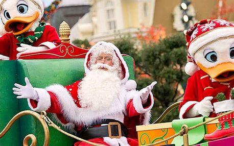 Zájezd do adventní Paříž s návštěvou vánočního Disneylandu