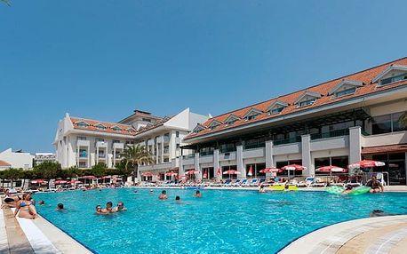 Turecko - Side na 8 dní, all inclusive s dopravou letecky z Prahy 100 m od pláže