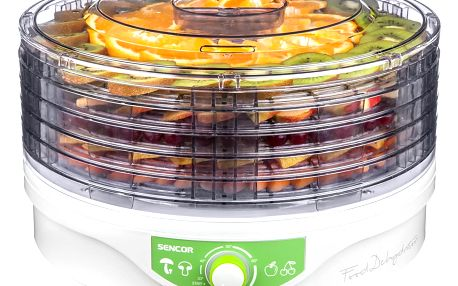 Sencor SFD 2105WH sušička ovoce, bílá