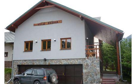 Slovensko - Malá Fatra na 4 až 8 dní, polopenze s dopravou vlastní