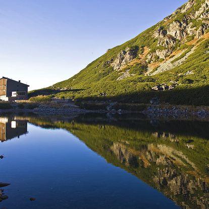 Sliezský dom **** ve výšce 1670 m n. m. v Tatrách s masáží