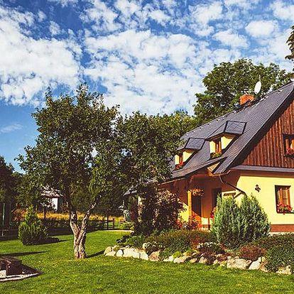 Komfortní apartmány se snídaní v přírodě Jeseníků