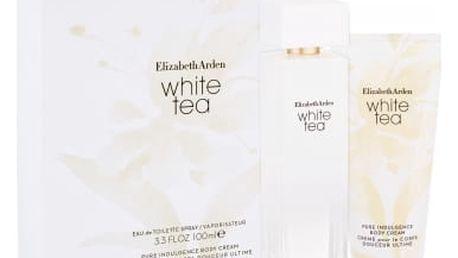 Elizabeth Arden White Tea dárková kazeta pro ženy toaletní voda 100 ml + tělový krém 100 ml