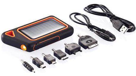 Vodotěsná solární nabíječka - VÝPRODEJ