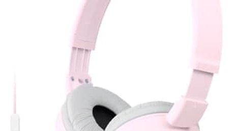 Sluchátka Sony MDRZX110APP.CE7 růžová (MDRZX110APP.CE7)