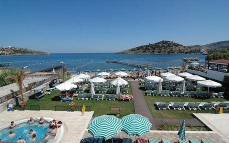 Turecko - Bodrum na 9 dní, all inclusive s dopravou letecky z Prahy přímo na pláži
