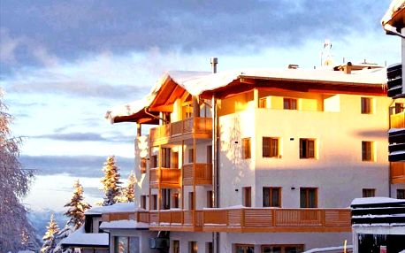 Hotel Alpine Mugon ve Vason v Monte Bondone - 250 m od lanov