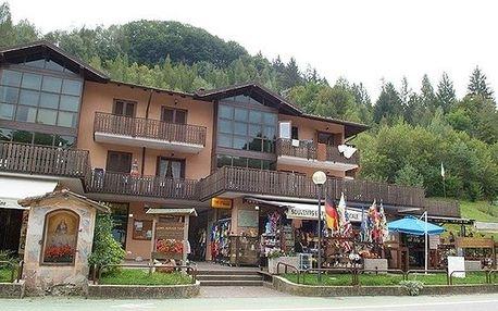 Itálie - Trentino na 8 dní, bez stravy s dopravou vlastní 150 m od pláže