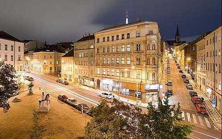 Obdivuhodná Praha s ubytováním ve 3* hotelu na Žižkově kousek od centra města