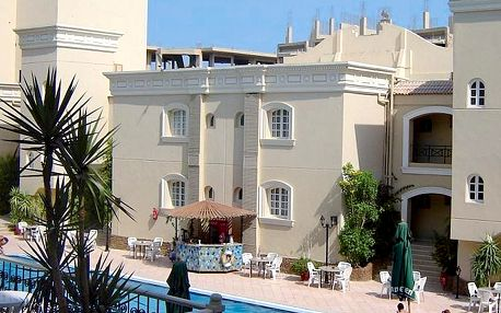 Egypt - Hurghada na 8 dní, all inclusive s dopravou letecky z Ostravy nebo Prahy 300 m od pláže