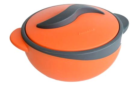 Termomísa PARISA 1,5 l oranžovošedá