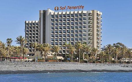 Kanárské ostrovy - Tenerife na 8 dní, polopenze s dopravou letecky z Prahy 400 m od pláže
