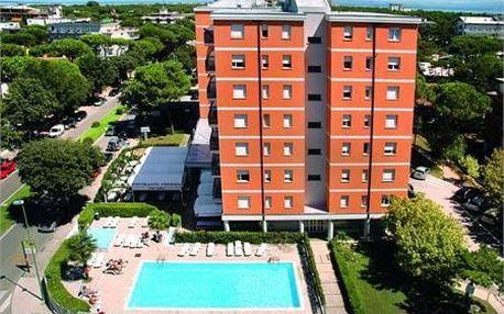 Itálie - Lignano na 6 dní, bez stravy s dopravou vlastní 400 m od pláže