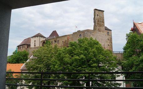 Hotel Lipnice na Vysočině přímo u hradu se saunou i vstupem na hrad