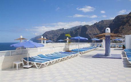 Kanárské ostrovy - Tenerife na 6 až 8 dní, polopenze, snídaně nebo bez stravy s dopravou letecky z Budapeště nebo Prahy 500 m od pláže