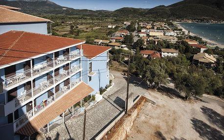 Řecko - Lefkada na 8 až 15 dní, polopenze s dopravou letecky z Prahy nebo Brna 150 m od pláže