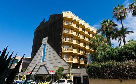 Kanárské ostrovy - Tenerife na 8 dní, plná penze nebo bez stravy s dopravou letecky z Prahy 300 m od pláže