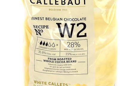 Callebaut Bílá čokoláda 1 kg