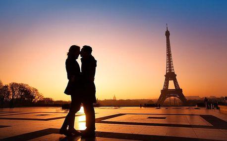 Francie, Paříž VALENTÝNSKÝ TÝDEN 2019, poznávací zájezd, romanti...