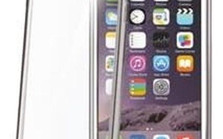 Pouzdro na mobil flipové Celly Laser pro Apple iPhone 6/6s stříbrné (BCLIP6SSV)