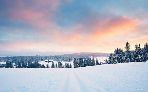 Pobyt plný turistiky nebo lyžování na Šumavě