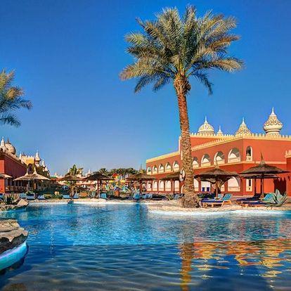 Egypt - Hurghada na 8 dní, all inclusive s dopravou letecky z Prahy nebo Ostravy 2 km od pláže