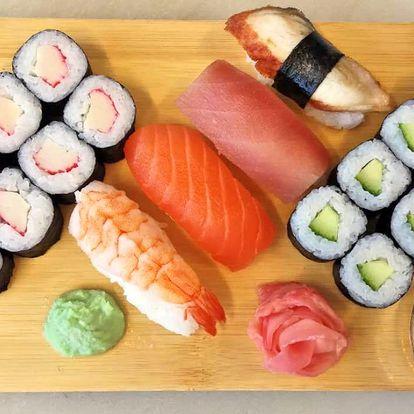 Sushi sety a úžasný výhled na Olomouc