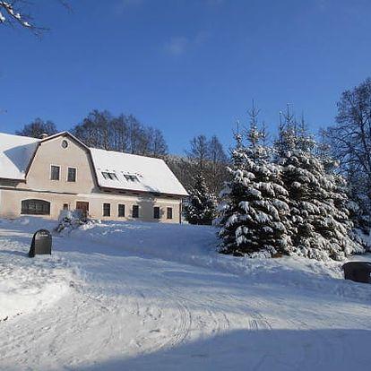Zimní Krkonoše na 3-6 dní pro dva s polopenzí a wellness