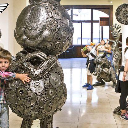 Vstupenky do Galerie ocelových figurín