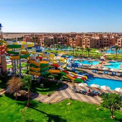 Egypt - Hurghada na 8 dní, all inclusive s dopravou letecky z Ostravy nebo Prahy 500 m od pláže